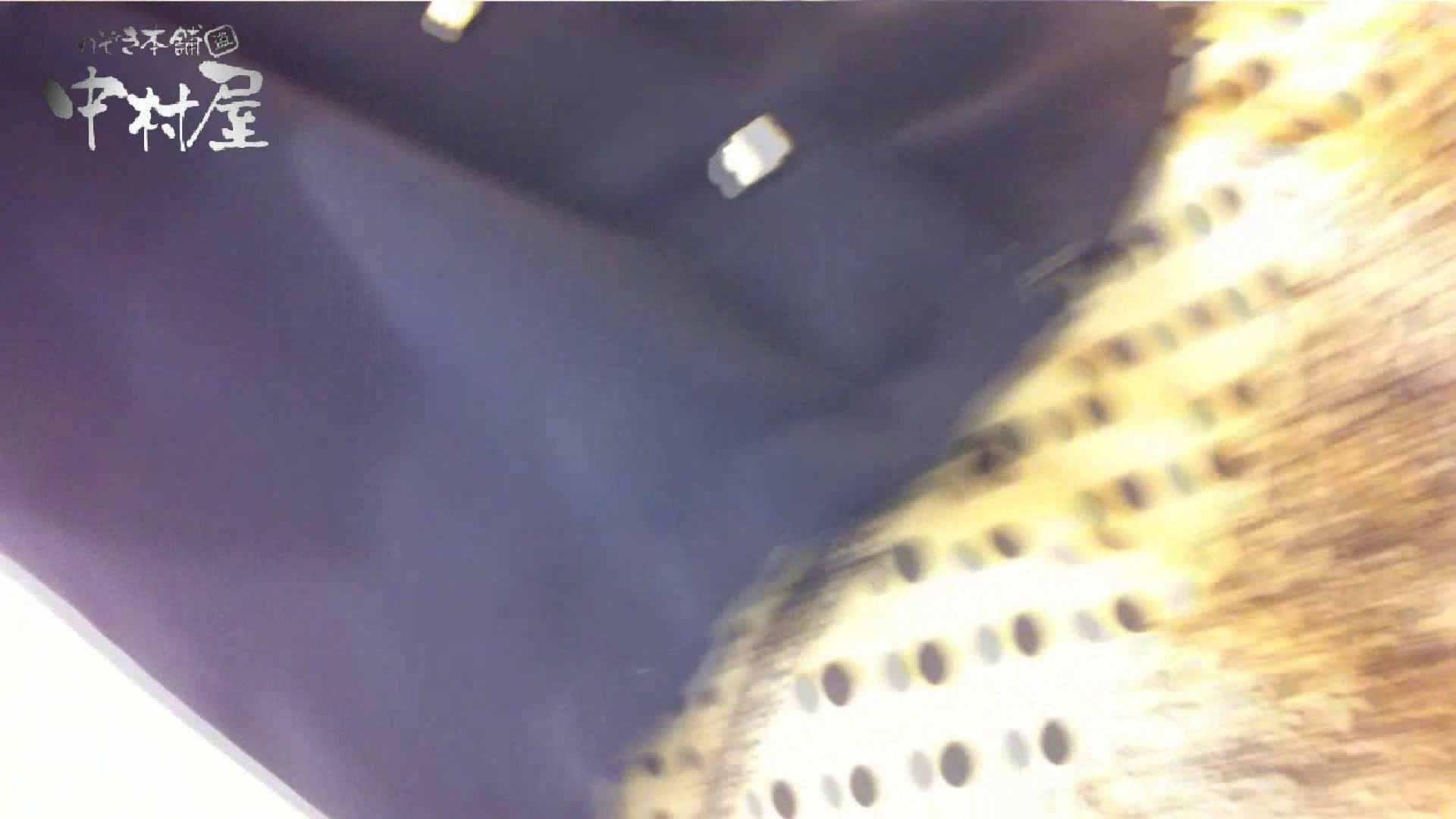 vol.66 美人アパレル胸チラ&パンチラ 店員さんのパンツはストライプ 接写  100pic 50