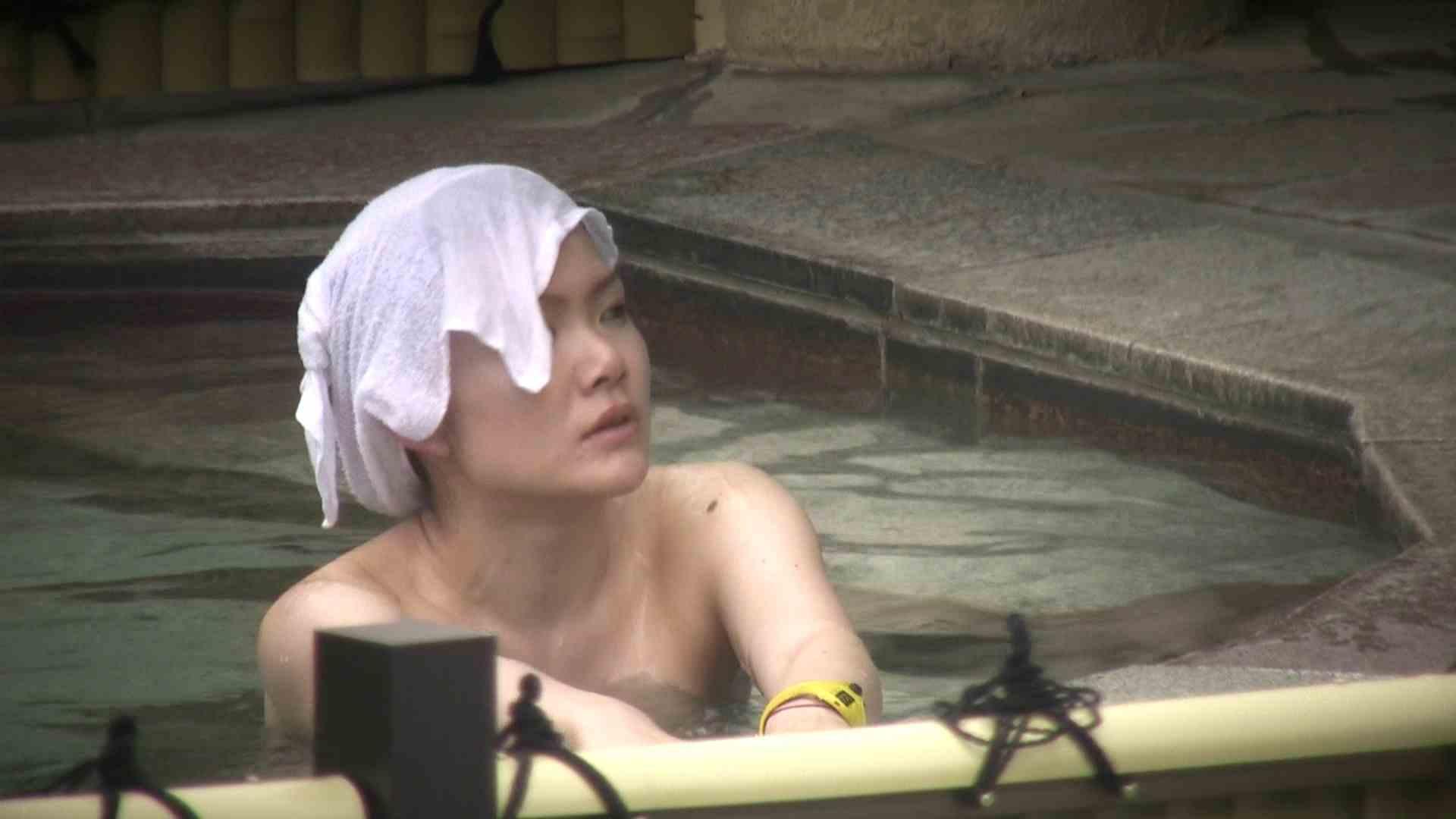 Aquaな露天風呂Vol.12【VIP】 露天風呂突入 | 美しいOLの裸体  78pic 10