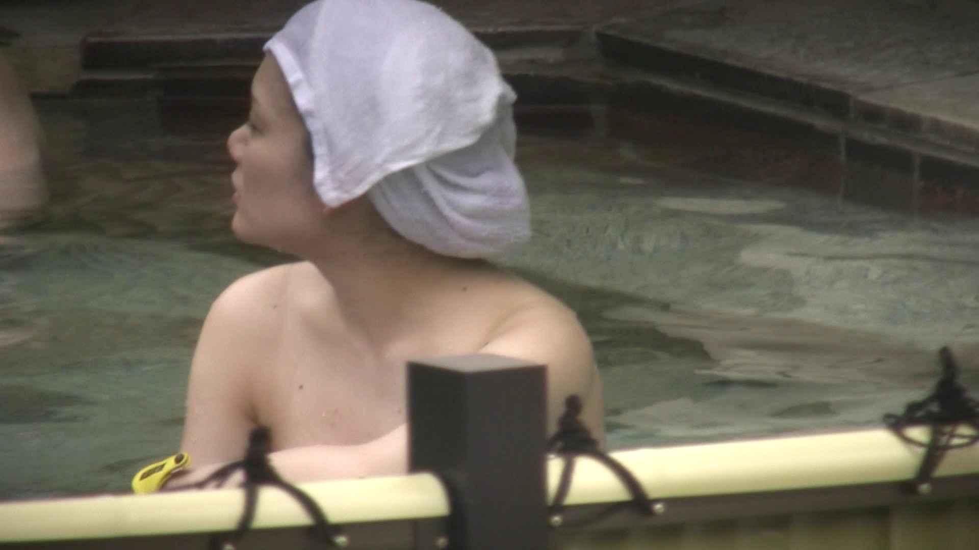 Aquaな露天風呂Vol.12【VIP】 露天風呂突入 | 美しいOLの裸体  78pic 40