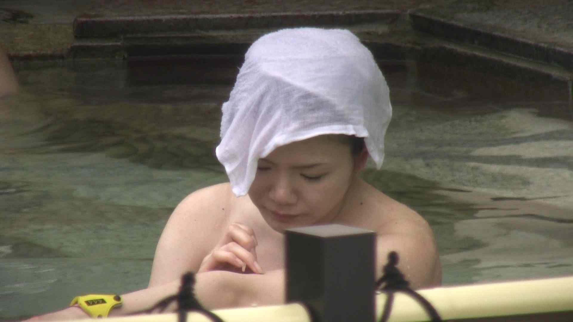 Aquaな露天風呂Vol.12【VIP】 露天風呂突入 | 美しいOLの裸体  78pic 64