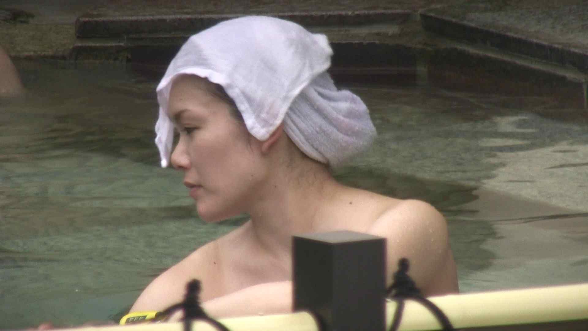Aquaな露天風呂Vol.12【VIP】 露天風呂突入 | 美しいOLの裸体  78pic 73