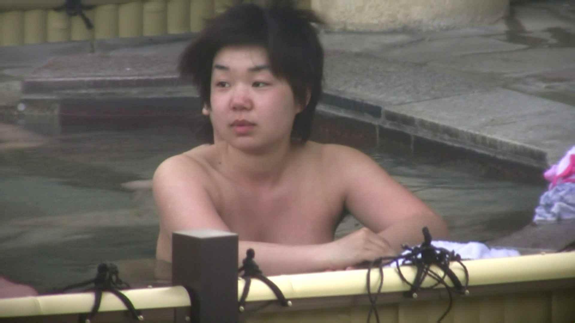 Aquaな露天風呂Vol.53【VIP限定】 露天風呂突入 | 美しいOLの裸体  78pic 1