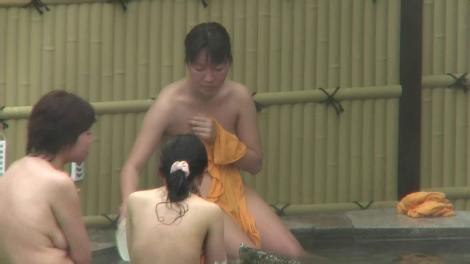 Aquaな露天風呂Vol.75【VIP限定】 美しいOLの裸体   露天風呂突入  107pic 91