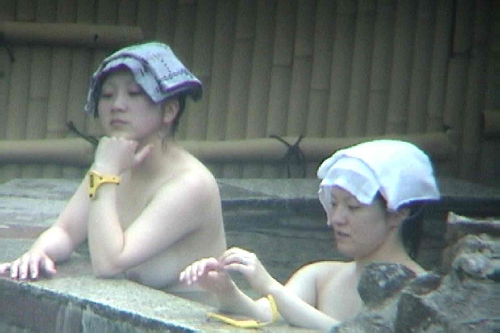 Aquaな露天風呂Vol.104 露天風呂突入  98pic 33