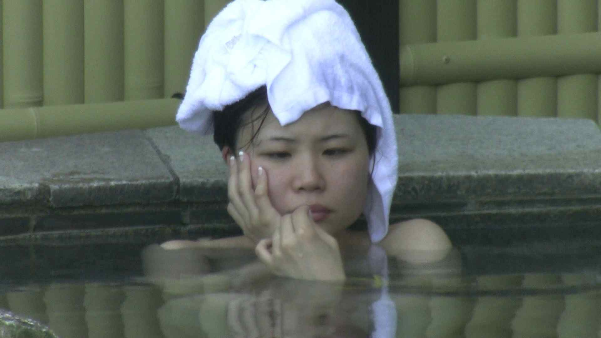 Aquaな露天風呂Vol.183 美しいOLの裸体   露天風呂突入  105pic 10