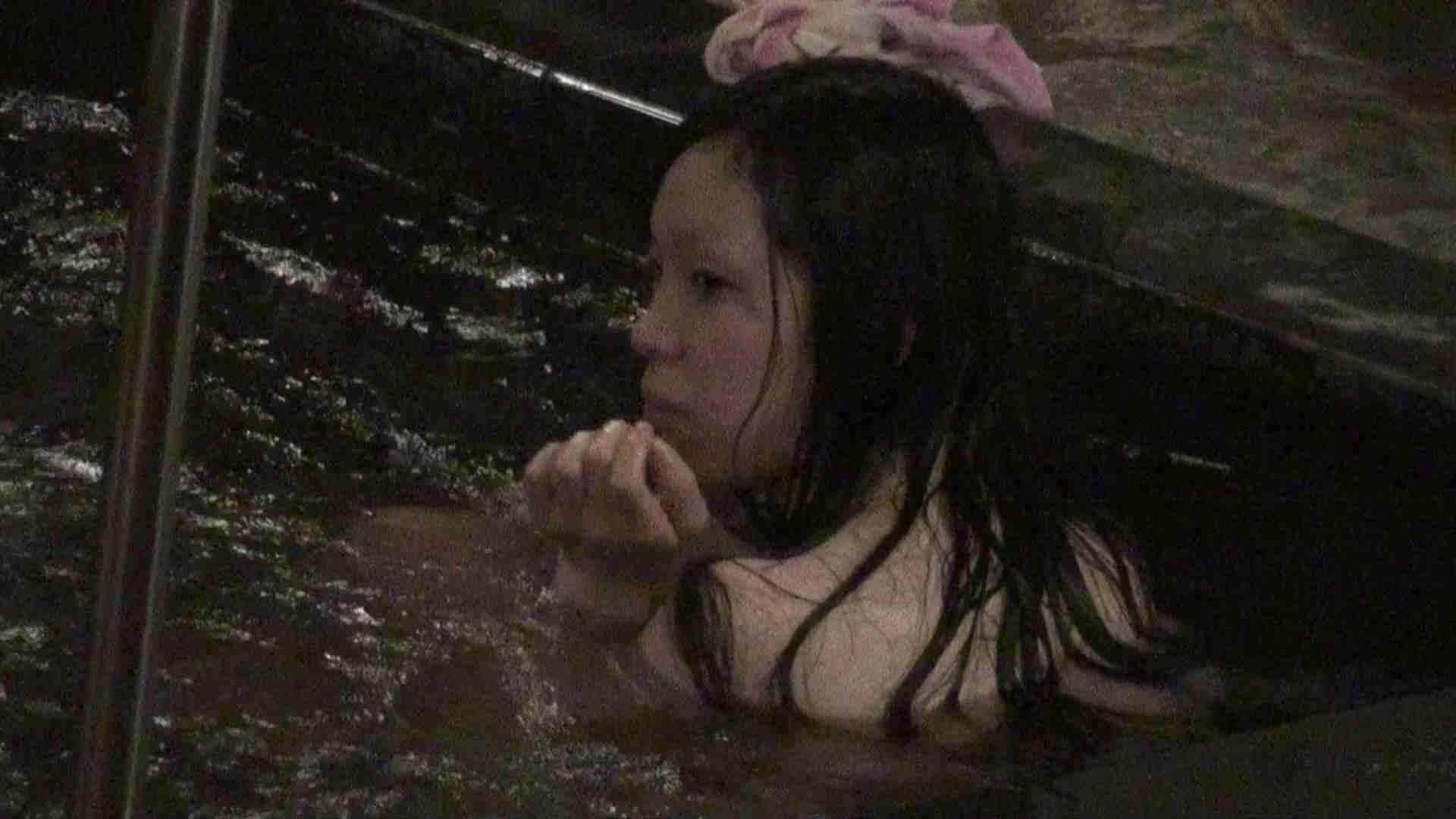 Aquaな露天風呂Vol.381 露天風呂突入 戯れ無修正画像 97pic 71