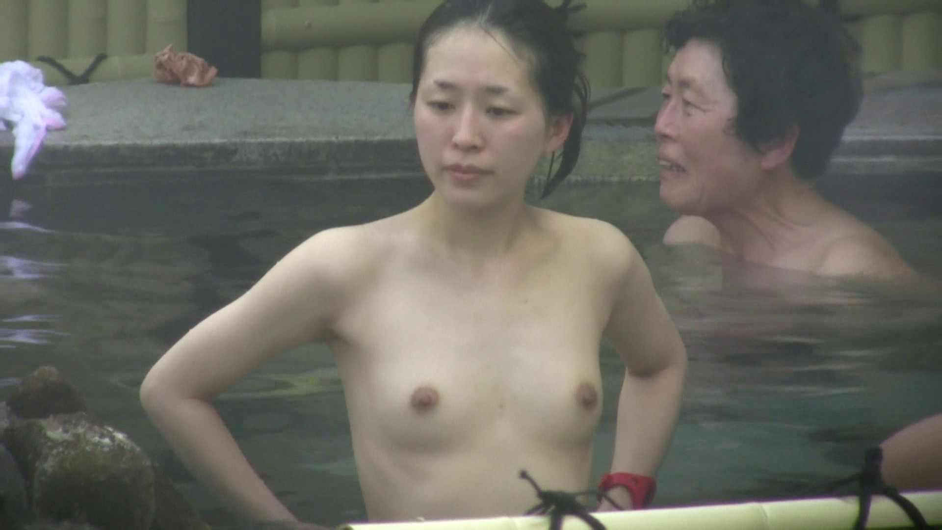 Aquaな露天風呂Vol.583 露天風呂突入  103pic 42