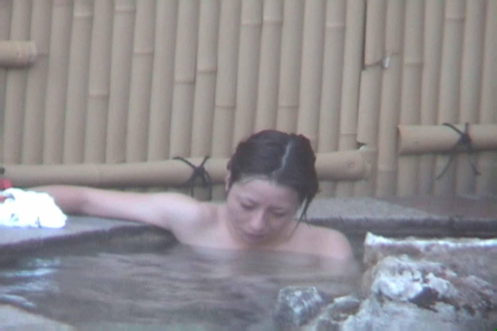 Aquaな露天風呂Vol.608 露天風呂突入  95pic 45