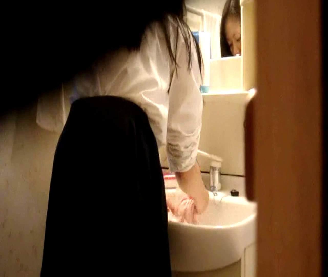 二人とも育てた甲斐がありました… vol.05 まどかが洗顔後にブラを洗濯 美しいOLの裸体 | 0  102pic 69