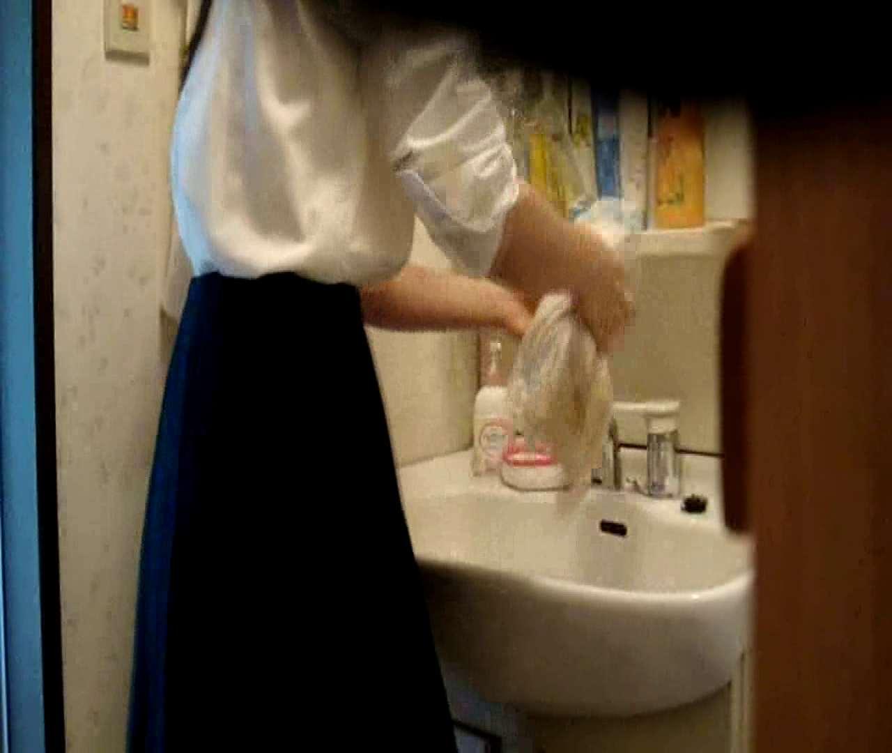 二人とも育てた甲斐がありました… vol.05 まどかが洗顔後にブラを洗濯 美しいOLの裸体 | 0  102pic 85