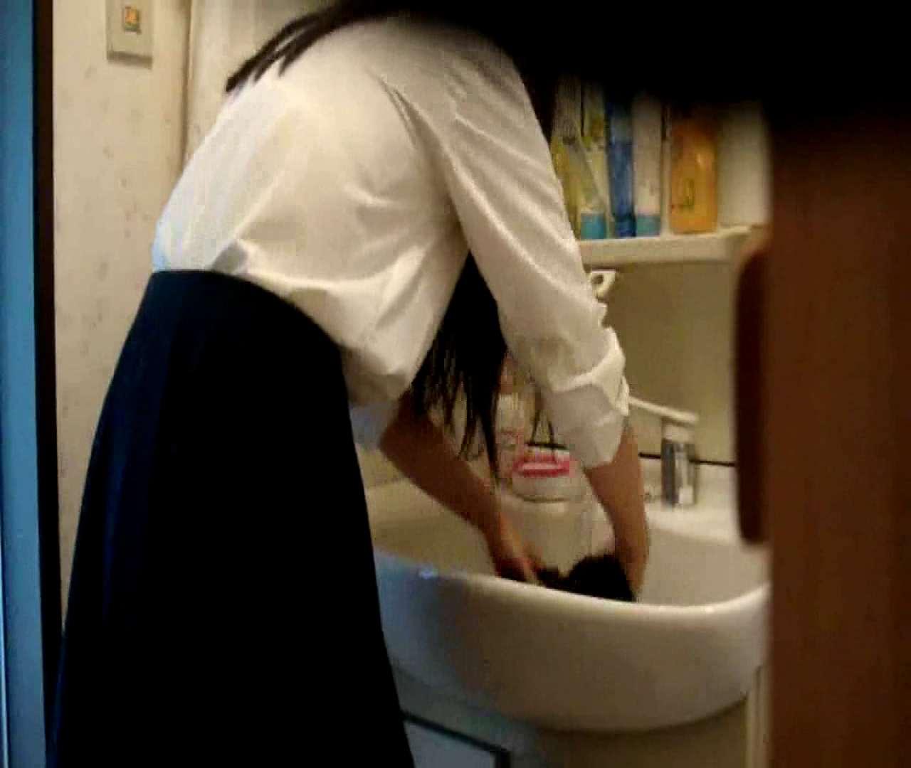 二人とも育てた甲斐がありました… vol.05 まどかが洗顔後にブラを洗濯 美しいOLの裸体 | 0  102pic 89