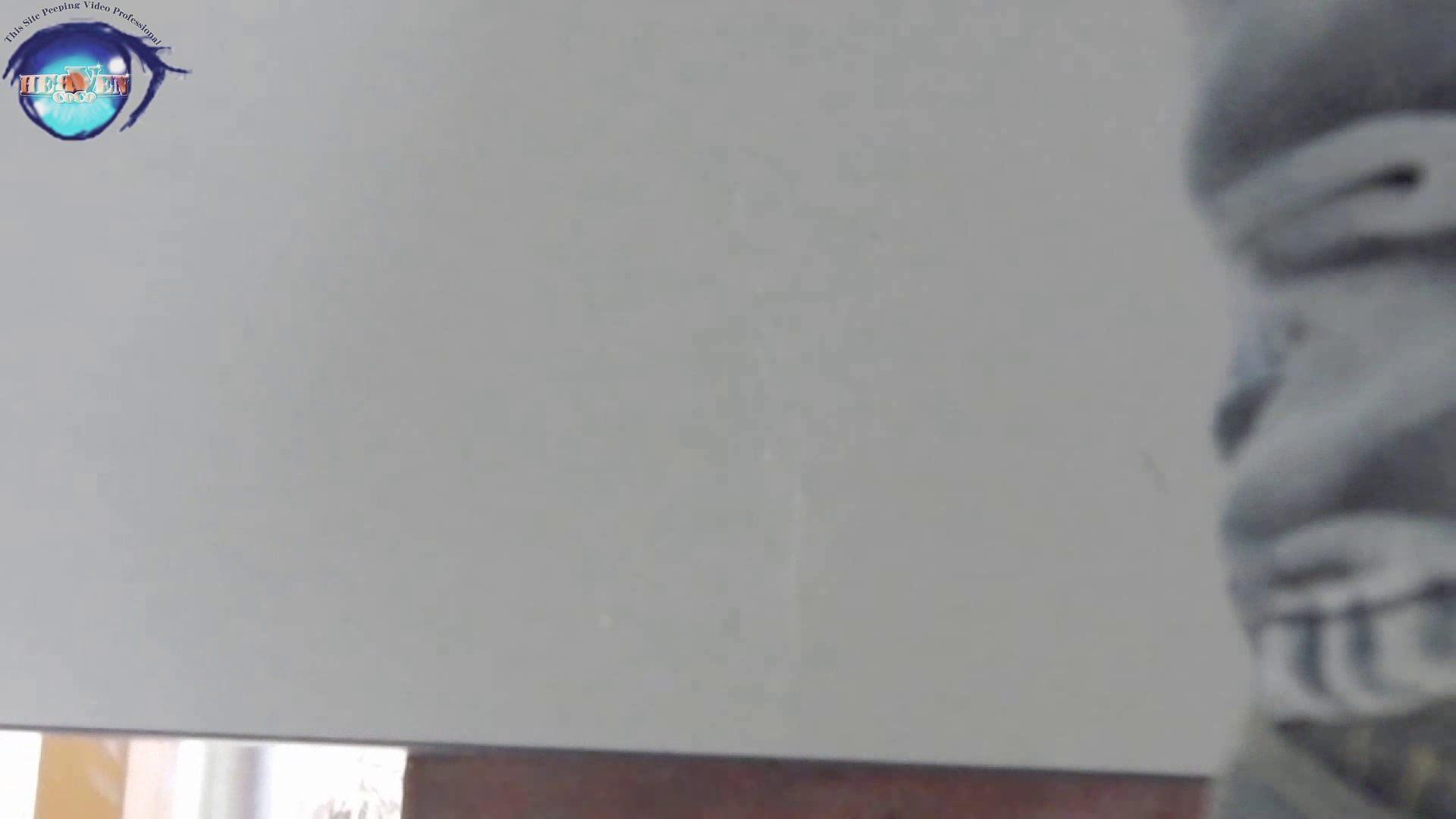 お銀さんの洗面所突入レポート!!vol.63 あれ?チラっチラって。気づいてます?後編 乙女 われめAV動画紹介 71pic 41