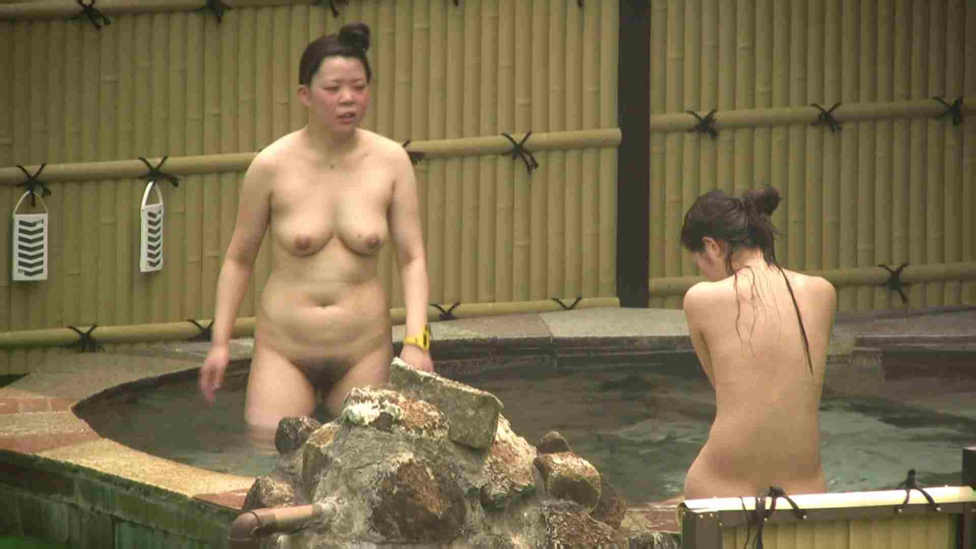 高画質露天女風呂観察 vol.022 入浴隠し撮り | 望遠  95pic 71