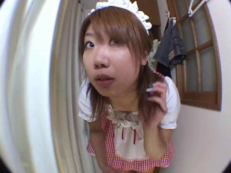 アキバメイドカフェ 萌える嬢の着替え盗撮 下着 えろ無修正画像 103pic 19
