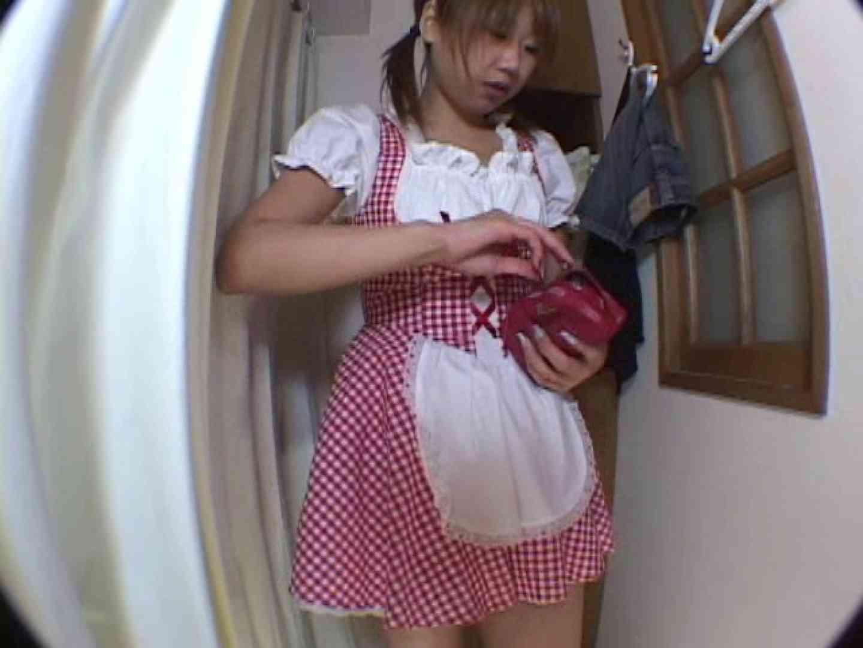 アキバメイドカフェ 萌える嬢の着替え盗撮 下着 えろ無修正画像 103pic 24