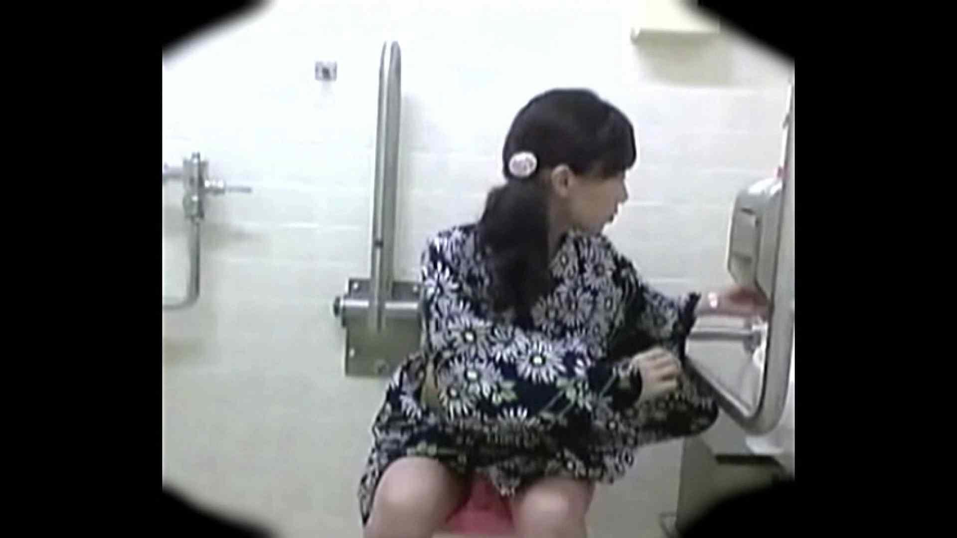 teen galトイレ覗き紙がナイ編‼vol.01 トイレ突入 | 浴衣  93pic 1