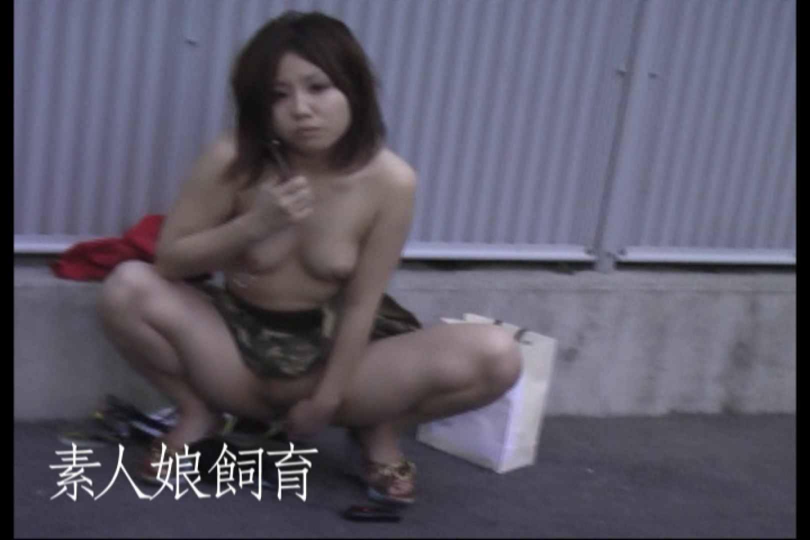 素人嬢飼育~お前の餌は他人棒~6月17日野外露出 素人丸裸  74pic 30