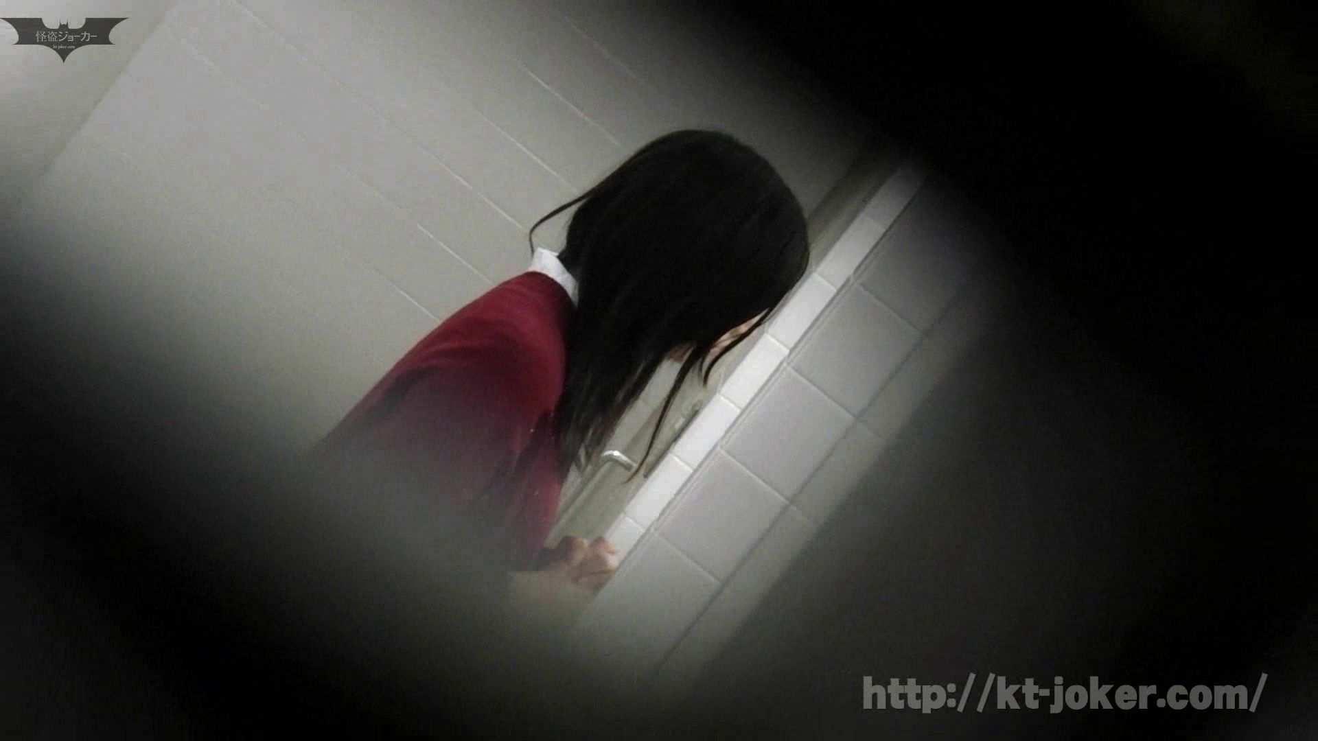 命がけ潜伏洗面所! vol.56 ピンチ!!「鏡の前で祈る女性」にばれる危機 洗面所突入  105pic 9
