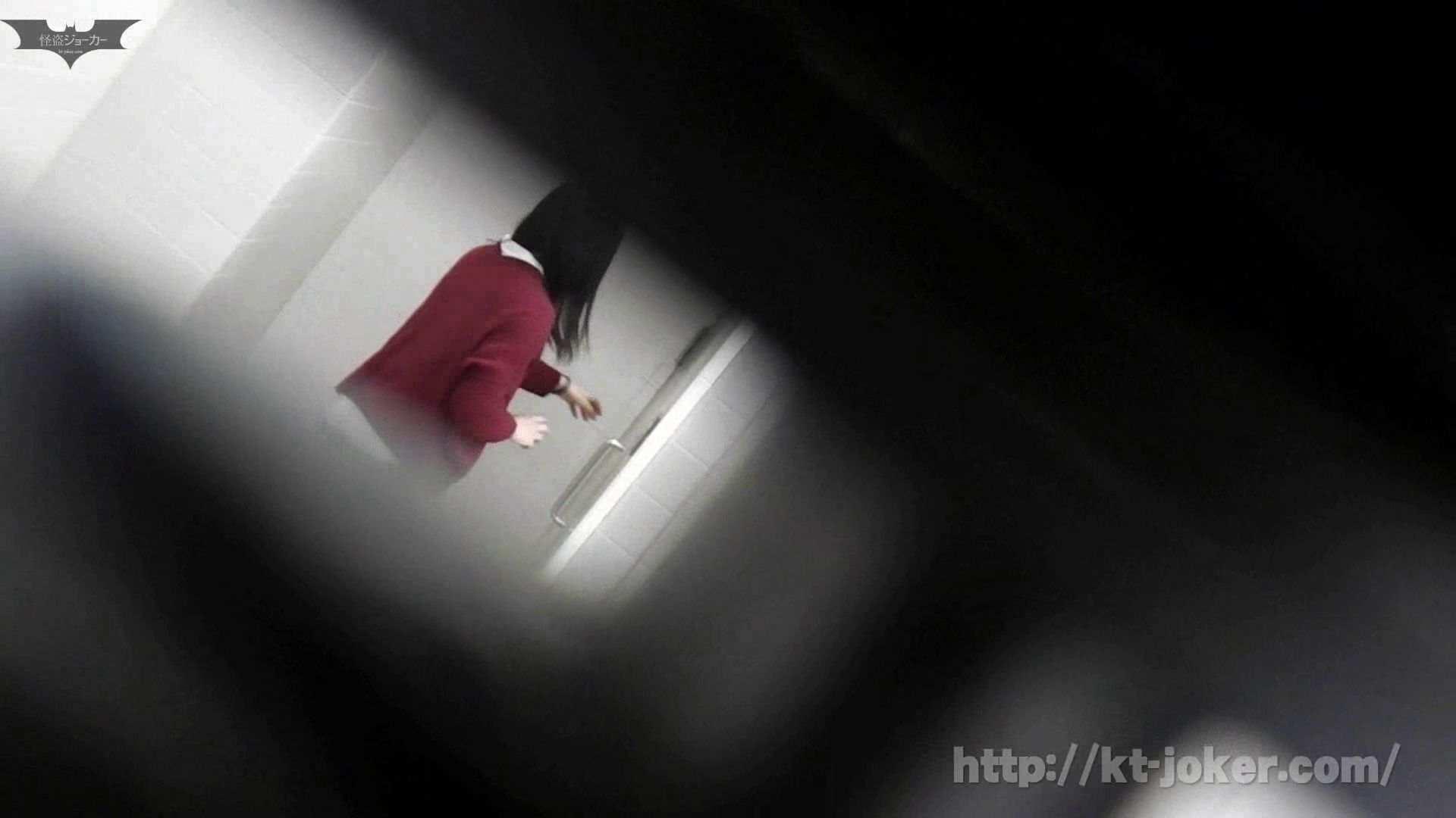 命がけ潜伏洗面所! vol.56 ピンチ!!「鏡の前で祈る女性」にばれる危機 洗面所突入  105pic 15