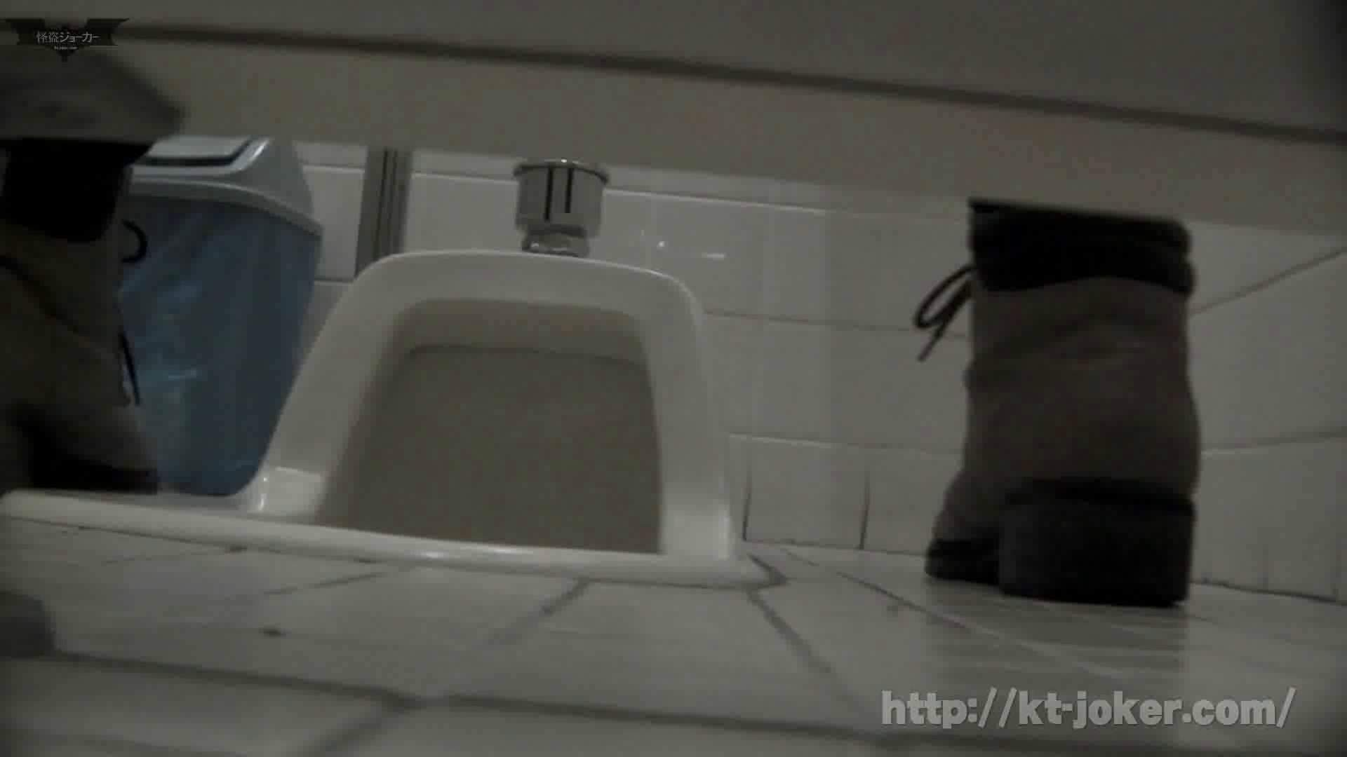 命がけ潜伏洗面所! vol.56 ピンチ!!「鏡の前で祈る女性」にばれる危機 洗面所突入  105pic 84