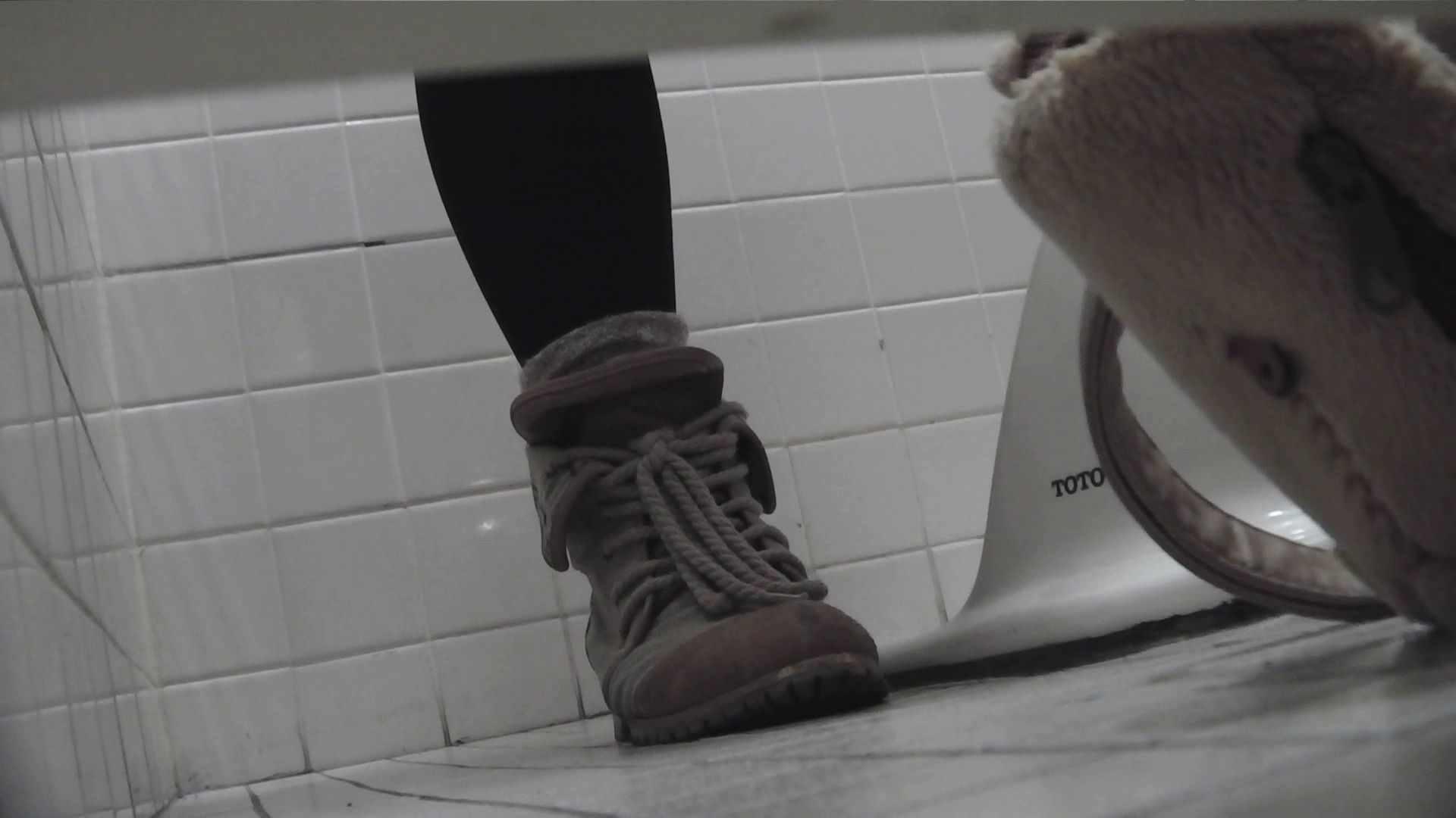 vol.08 命がけ潜伏洗面所! 黒ストッキングが流行りです。 プライベート AV無料動画キャプチャ 95pic 11