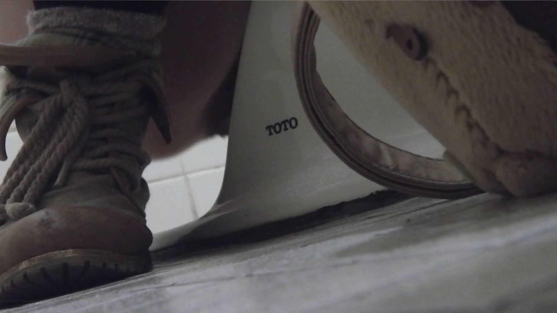 vol.08 命がけ潜伏洗面所! 黒ストッキングが流行りです。 プライベート AV無料動画キャプチャ 95pic 23