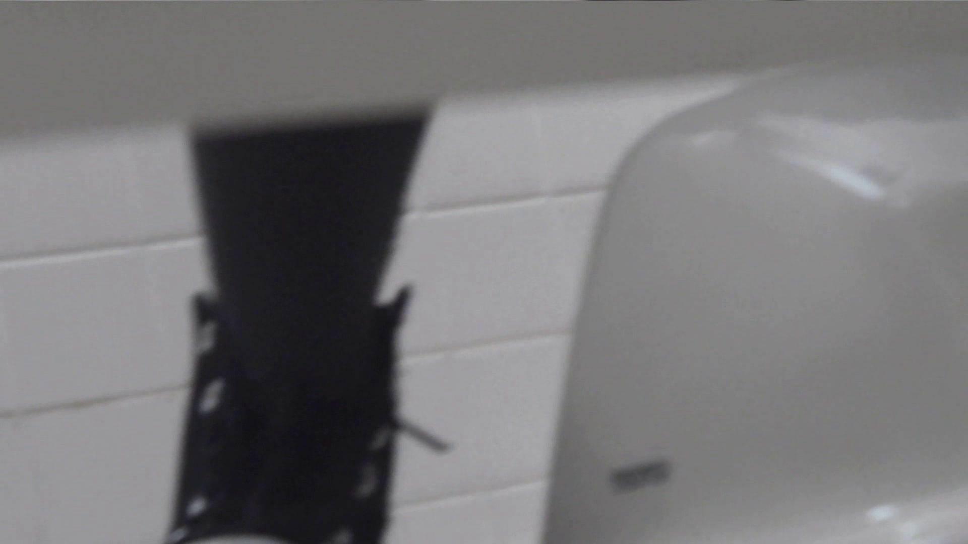 vol.08 命がけ潜伏洗面所! 黒ストッキングが流行りです。 美しいOLの裸体  95pic 56