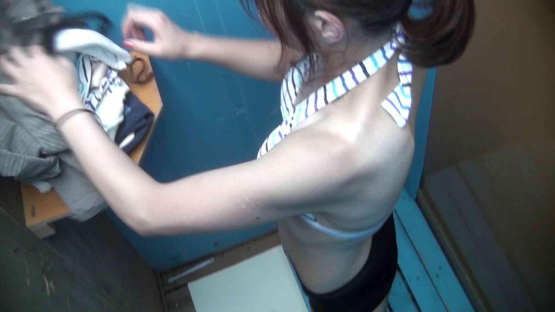 シャワールームは超!!危険な香りVol.27 乳首は一瞬貧乳姉さん 貧乳  103pic 90