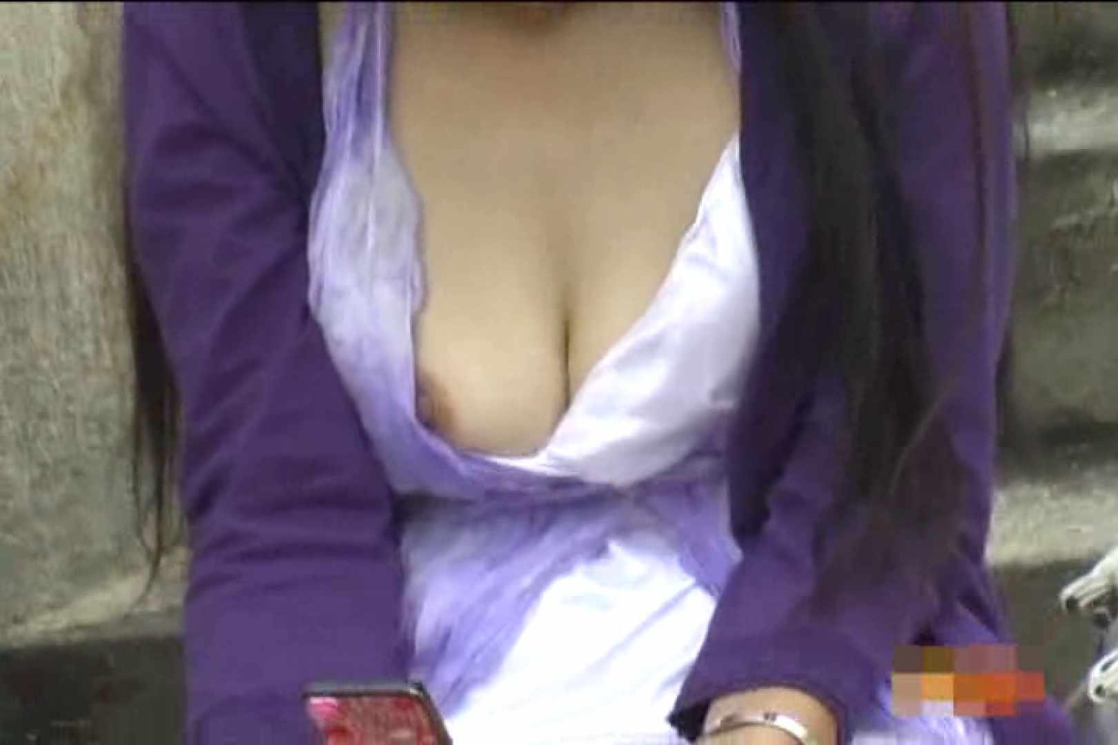 大胆露出胸チラギャル大量発生中!!Vol.1 乳首  103pic 78